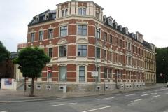 Umbau und Sanierung innerstädtischer Wohnbebauung zur altersgerechten Wohnanlage in Aue - 18 WE (2012-14, Leistungsphase 1-5)