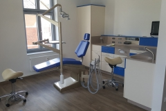 Umbau Ärztehaus Olbernhau - Kieferorthopädische Praxis (2016/17)