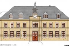 Grundschule Blumenau, Dach- und Fassadensanierung, Leistungsphase 5-8 (2008)