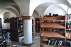 Rittergut Olbernhau - Bibliothek (1995 im Planungsbüro Strohmyr Olbernhau)