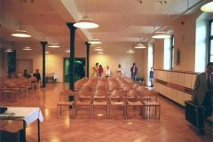 Rittergut Olbernhau - Saal Jugendzentrum (1994 im Planungsbüro Strohmyr Olbernhau)