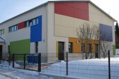Kindergarten Sonnenblume in Olbernhau Fassadengestaltung (2009)