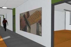 Farbkonzept, Staatliches Berufsbildungszentrum Greiz (2011)