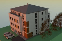Entwurf Wohnbebauung in Olbernhau (2017)