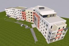 Entwurf Umbau Wohnungsbau Spremberg mit 40 WE (2016)