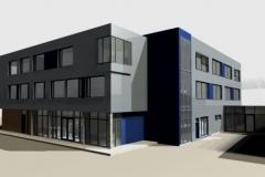Entwurf Bürogebäude in Reichenbach (2010)