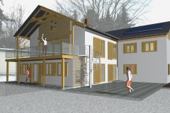 Entwurf Eigenheim Lengefeld