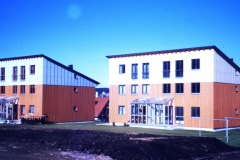 Wohnungsbau in Holzbauweise